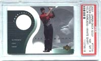 Tiger's Game Threads card, which can also be found in SP Authentic Golf, has also sold strongly in recent weeks.