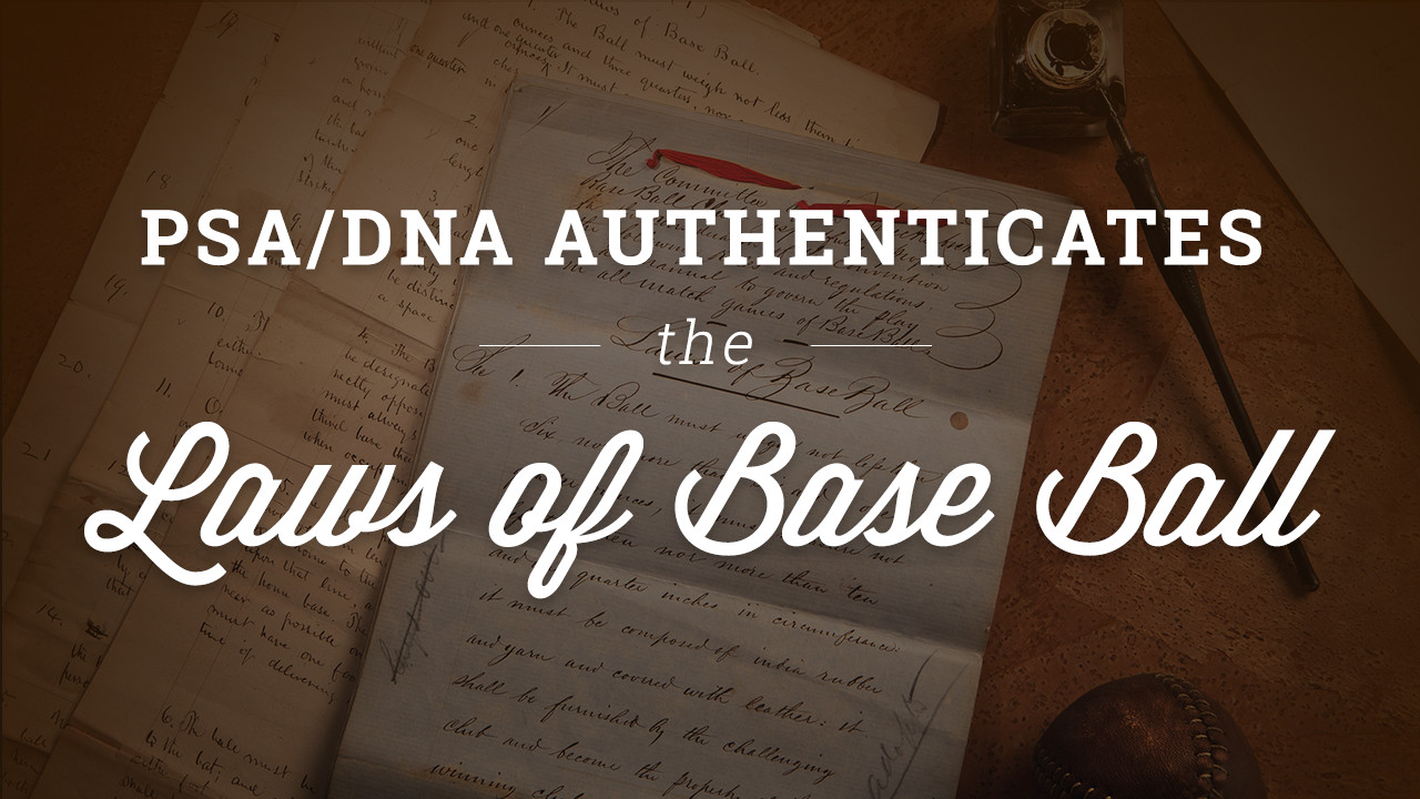 1857 Baseball Documents