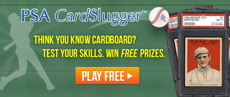 PSA CardSlugger Game