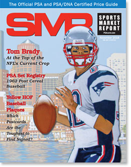 PSA Sports Market Report (SMR) Cover Image