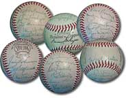 Dodgers team ball