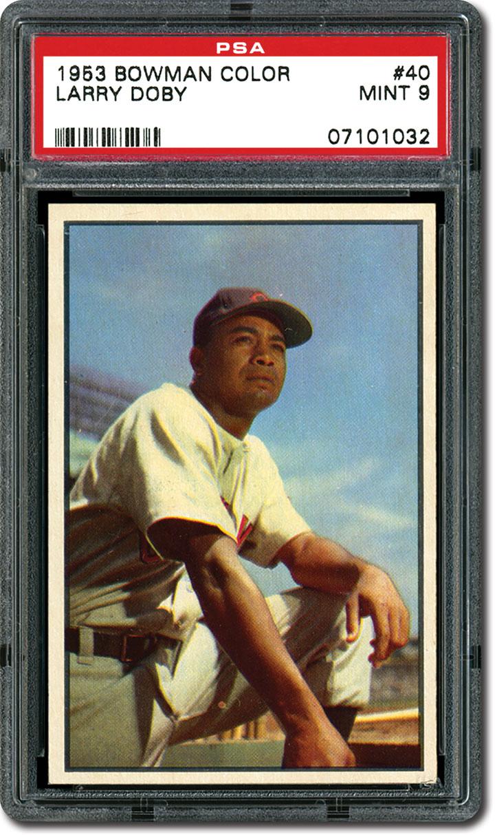 Psa Set Registry Collecting The 1953 Bowman Color Baseball Card Set