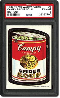 1967 Topps Wacky Packs