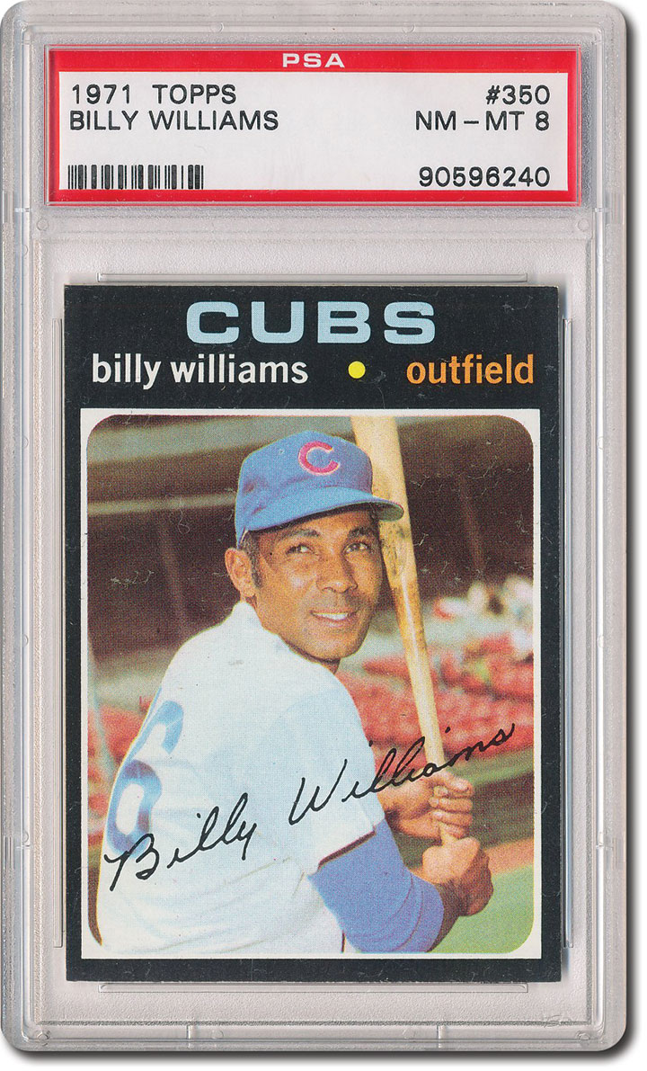 Autographs-original Lovely Billy Williams Autographed Baseball Up-To-Date Styling