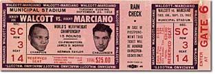 Walcott/Marciano