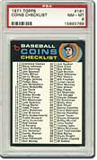 71 Topps Coins