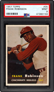 1957 Topps #35 Frank Robinson