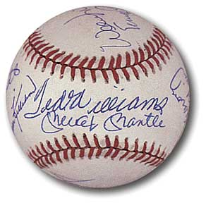 500 home run club autographed picture value.