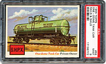 One Dome Tank Car