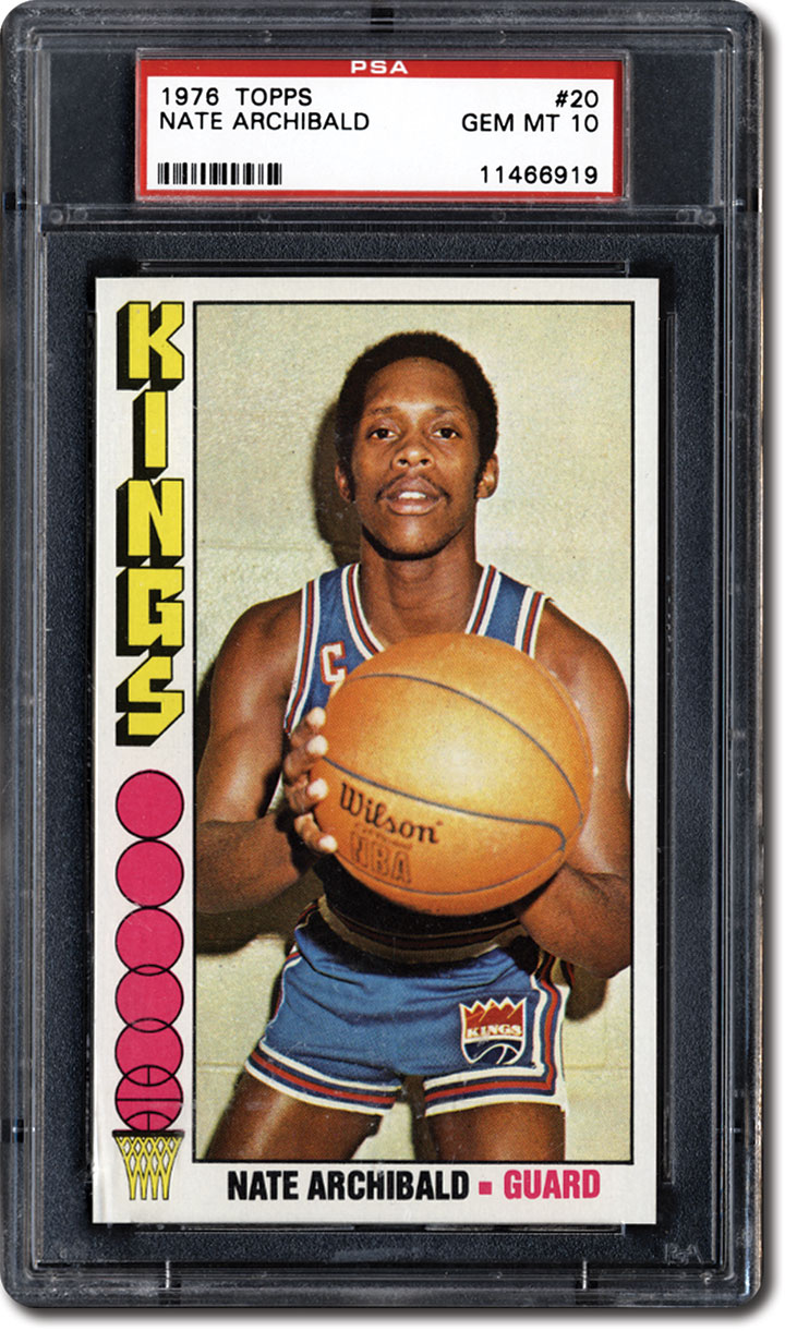PSA Set Registry Collecting the 1976 Topps Basketball Card Set A