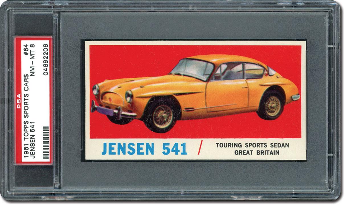 The 1961 Topps Sports Cars Card Set: Sleek, Stylish, Fast and Hard ...