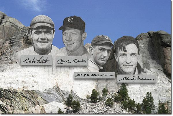 Mt Rushmore of Baseball Autographs