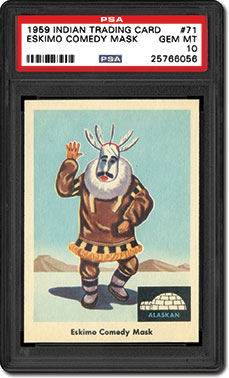 Eskimo Comedy Mask