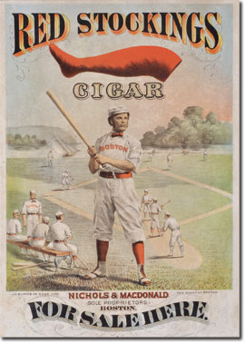 Red Stockings poster