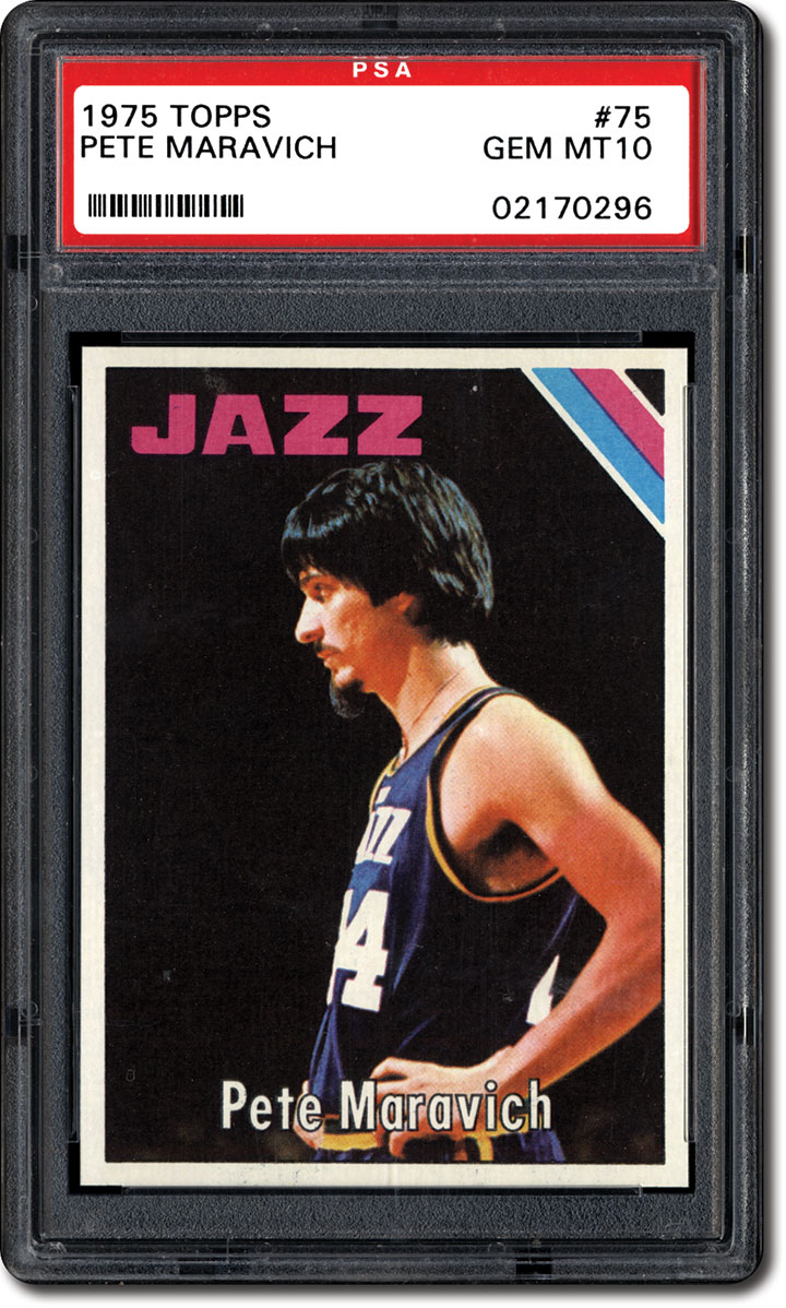 PSA Set Registry The 1975 Topps Basketball Card Set Pursuing