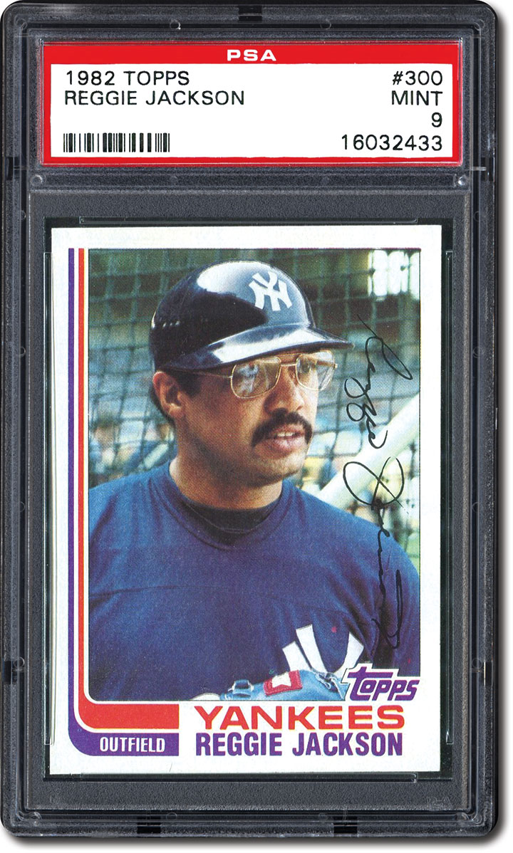 Psa Set Registry Collecting The 1982 Topps Baseball Set The First