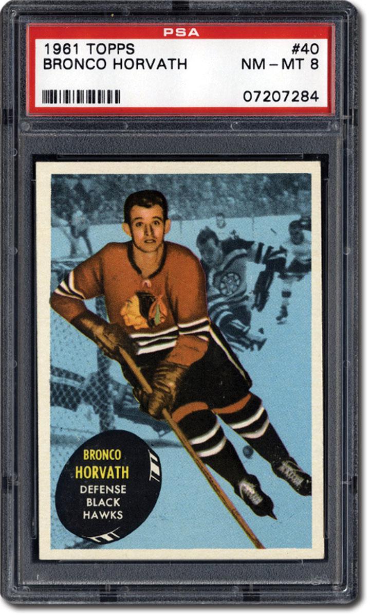 PSA Set Registry: The 1961 Topps Hockey Card Set, A Set of ...