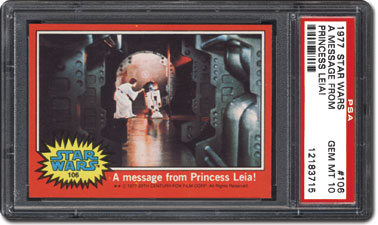 Message from Princess Leia