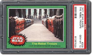 Rebel troops