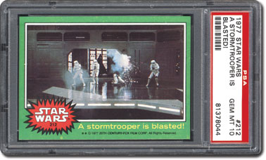 Stormtrooper is blasted