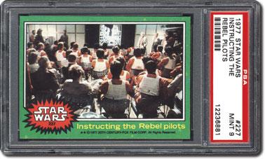 Instructing the rebel pilots