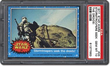 Stormtroopers seek droids