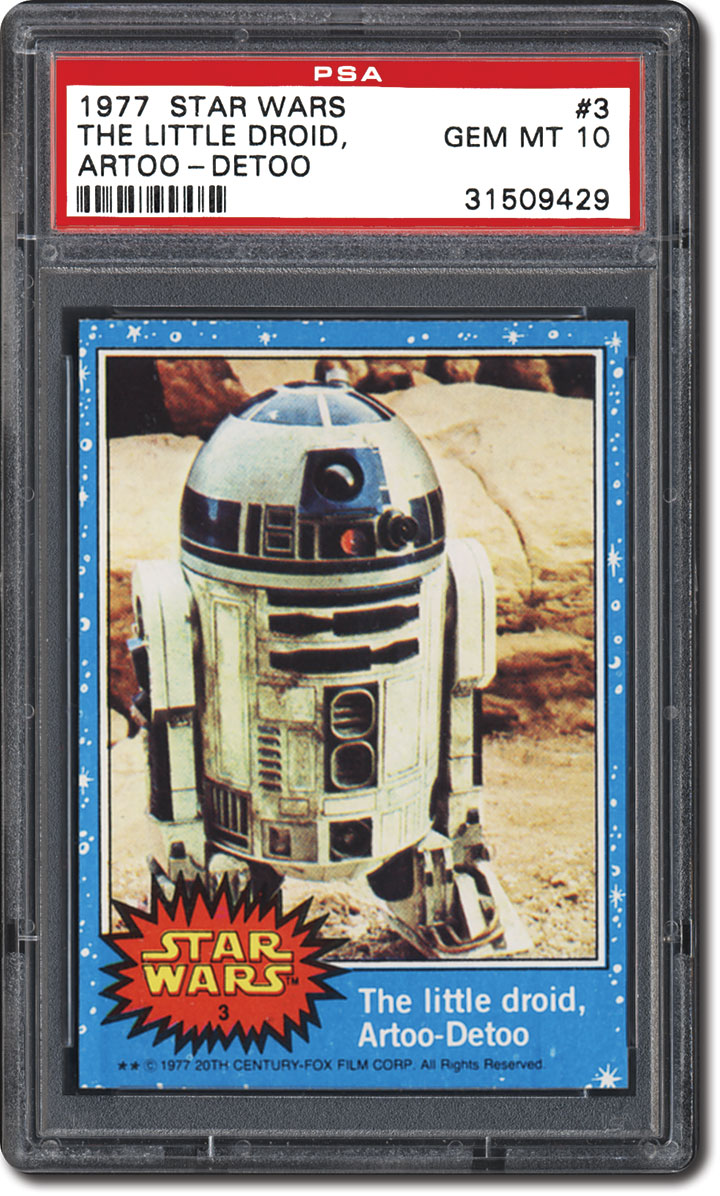 97831070d14 PSA Set Registry  Collecting The 1977 Topps Star Wars Trading Card ...
