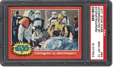 Interrogated by stormtroopers