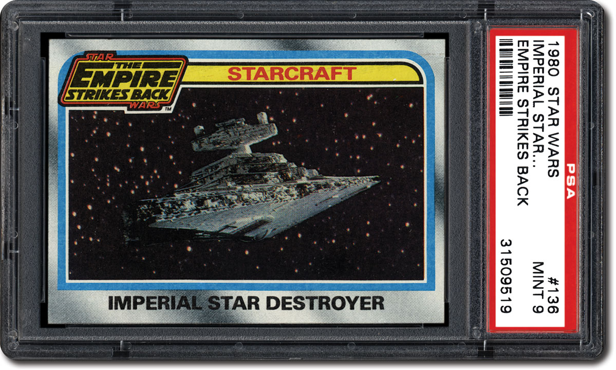 1980 Topps Star Wars The Empire Strikes Back #263 Checklist:Near Mint to Mint