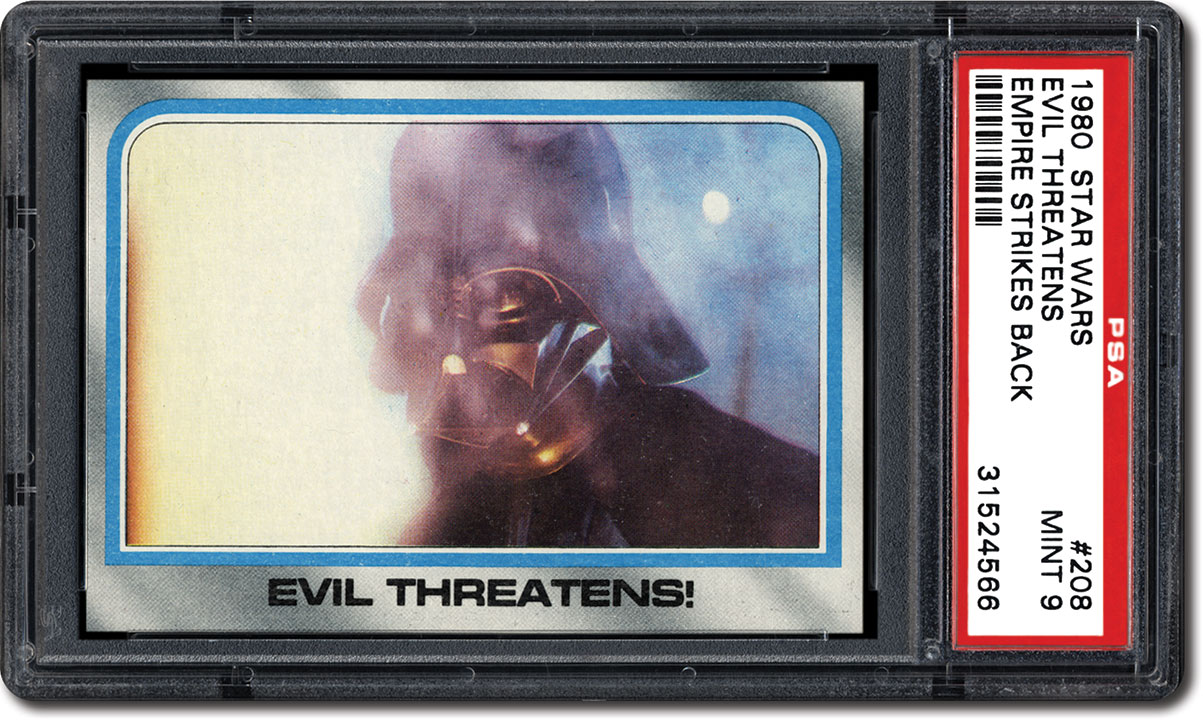 Psa Set Registry Collecting The 1980 Topps Star Wars Empire Strikes