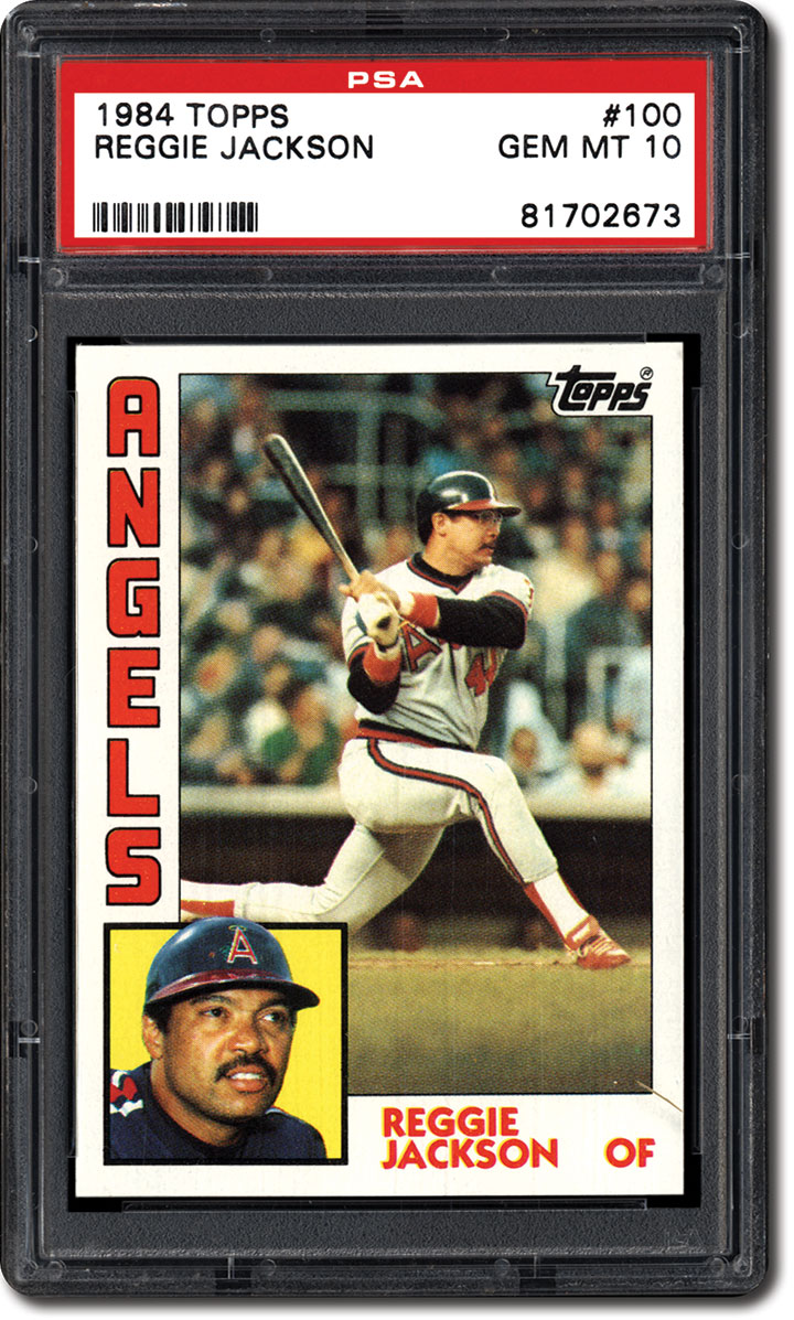 Psa Set Registry Collecting The 1984 Topps Baseball Card