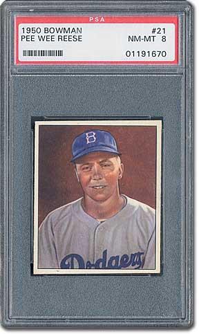 Psa Set Registry The Story Of The 1950 Bowman Baseball Card Set
