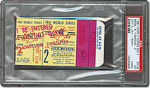 World Series stub