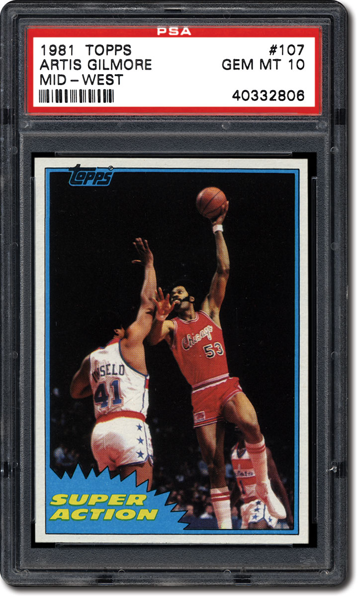 PSA Set Registry Collecting the 1981 Topps Basketball Card Set