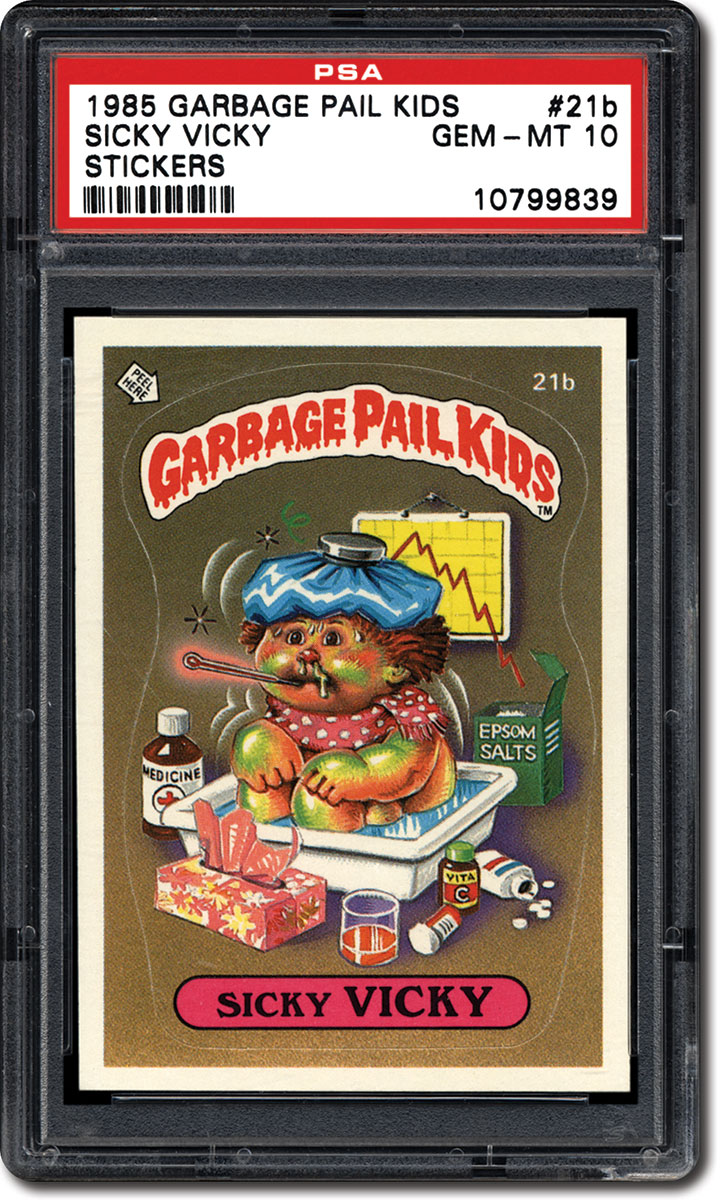 934ae4d359e PSA Set Registry  Collecting the 1985 Topps Garbage Pail Kids Series ...
