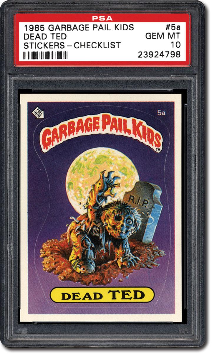 18acb3db0b5 PSA Set Registry. Collecting the 1985 Topps Garbage Pail Kids Series 1  Sticker Set