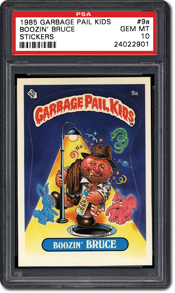 1a86f7a2418 The first series of 1985 Topps Garbage Pail Kids is the most coveted of the  15 Garbage Pail Kids series that were ultimately released.