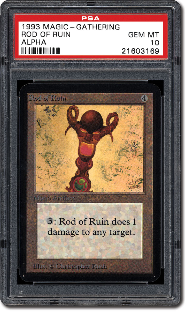 PSA Set Registry: Collecting the 1993 Magic: The Gathering Alpha ...