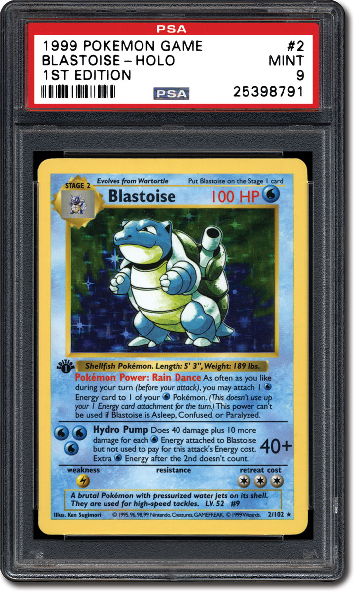 robert hebb who has assembled the entire 1999 pokmon 1st edition set in psa 10 grade has noticed the same trend - Where Can I Sell My Pokemon Cards In Person