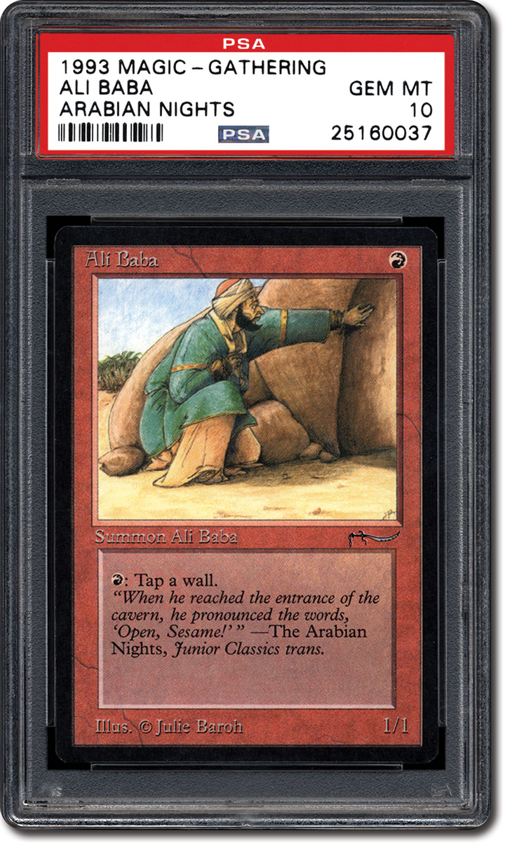 Psa Set Registry The 1993 Magic The Gathering Arabian Nights Card Set