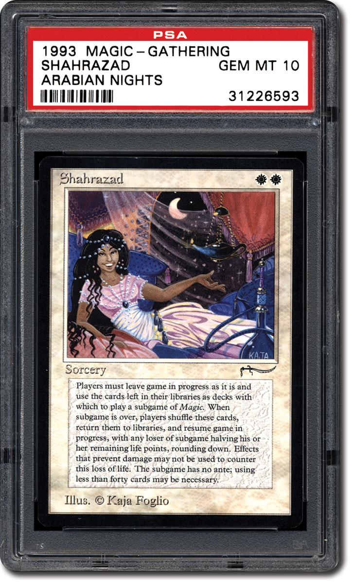 Psa Set Registry The 1993 Magic The Gathering Arabian Nights Card Set
