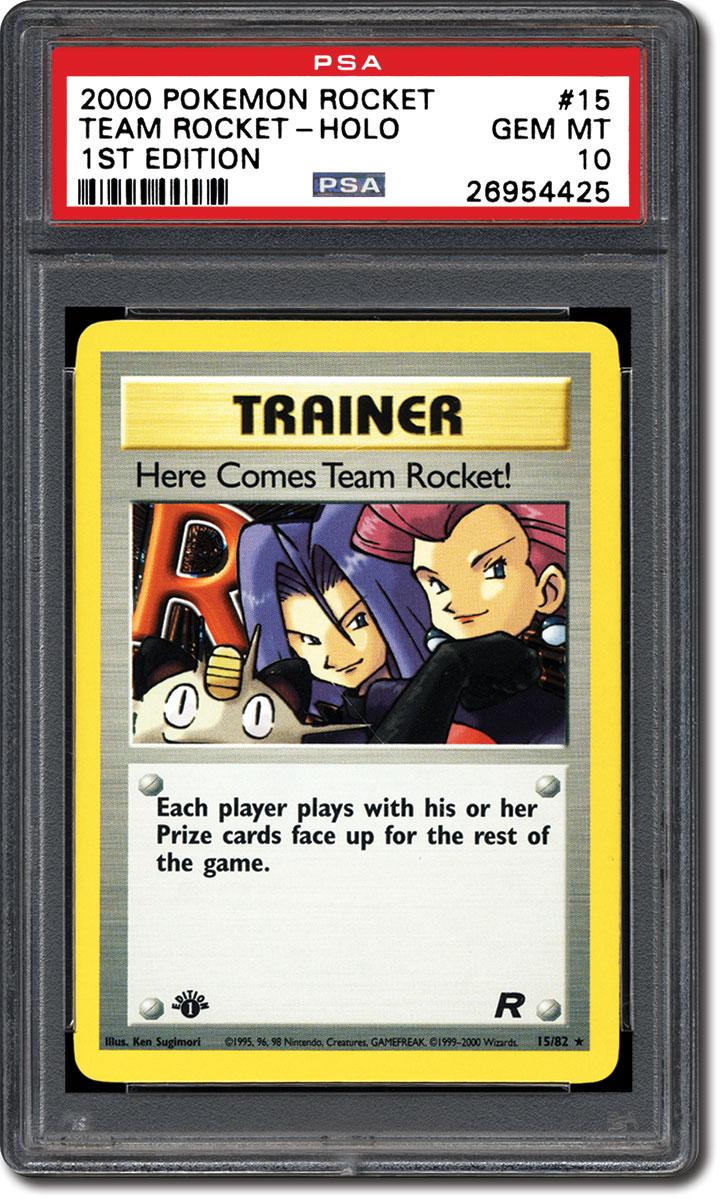 PSA Set Registry: Collecting the 2000 Pokemon Team Rocket