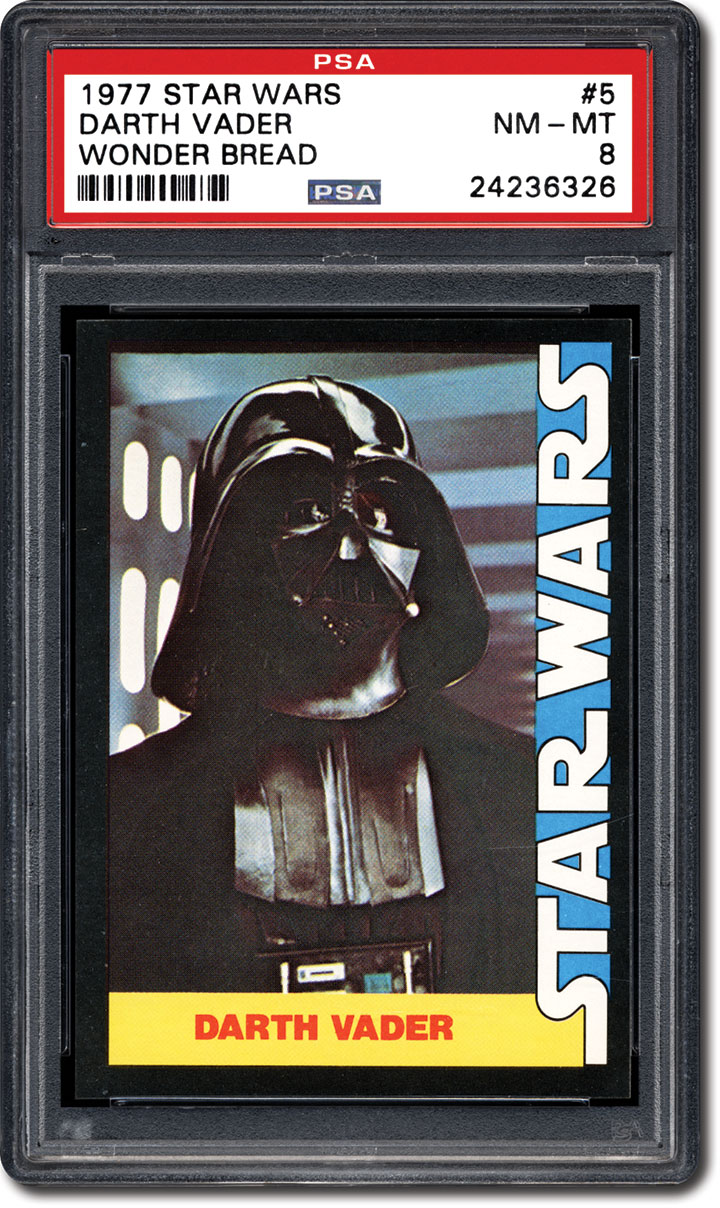 65826965a24 PSA Set Registry  Collecting the 1977 Wonder Bread Star Wars Trading ...
