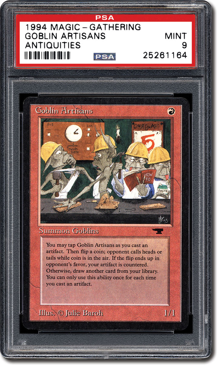 PSA Set Registry - Collecting the 1994 Magic: The Gathering