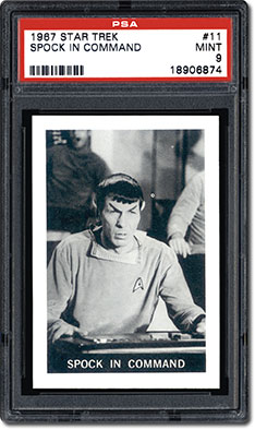 Spock in command
