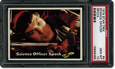 Science Officer Spock