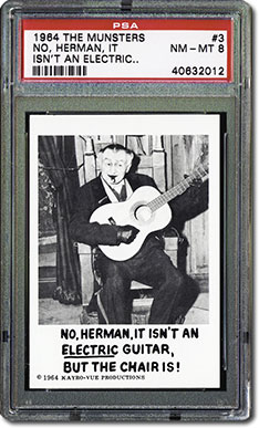 No, Herman, it isn't an electric guitar but the chair is