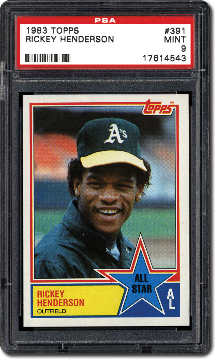 Collecting The 1983 Topps Baseball Card Set Hall Of Fame Rookies
