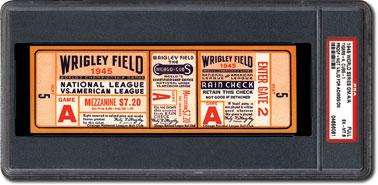 1945 World Series ticket
