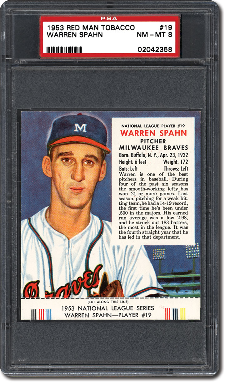 PSA Set Registry: Collecting the 1953 Red Man Tobacco Baseball Card Set